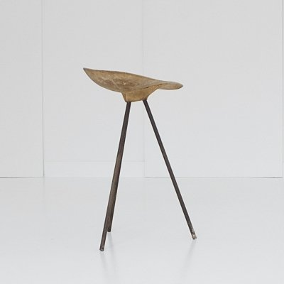 Tripod stool by Jean Raymond Picard for Seta, 1950s