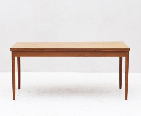 Extendable dining table, Denmark 1960s