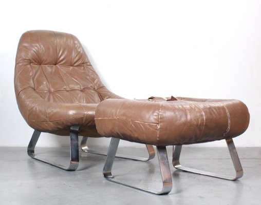 Earth lounge chair by Percival Lafer, 1970s