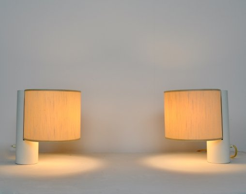 Pair of 'Fluette' Table Lamps by Giuliana Gramigna for Quattrifolio, 1970s