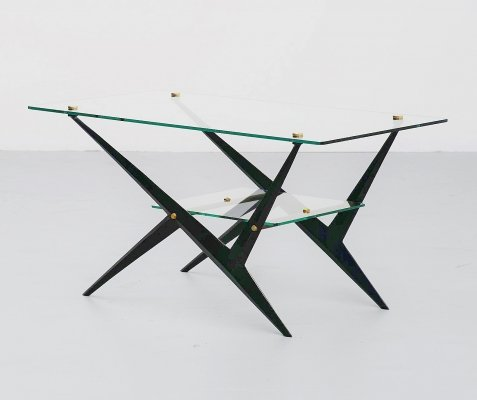 Angelo Ostuni cocktail table, Italy 1950s