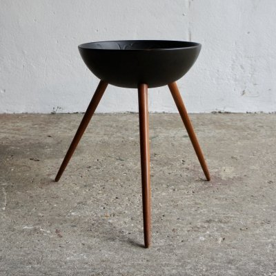 1960's Danish Side Table by H Holmer Hansen