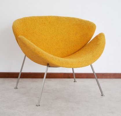 Orange Slice F437 armchair by Pierre Paulin for Artifort, late 1950s
