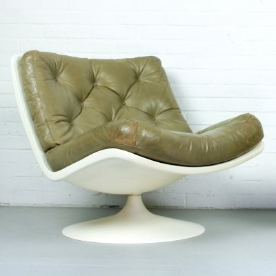 F976 lounge chair by Geoffrey Harcourt for Artifort, 1970s