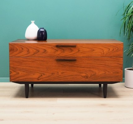 Danish design Chest of drawers in teak by Ib Kofod-Larsen for Faarup, 1960s
