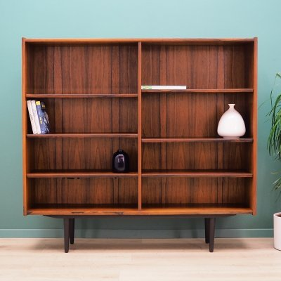 Danish design Bookcase in Rosewood by Omann Jun Møbelfabrik, 1960s