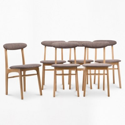 Set of 6 type A-5908 chairs, 1960s