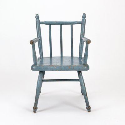 Painted Pine Child's Chair, Denmark c1900