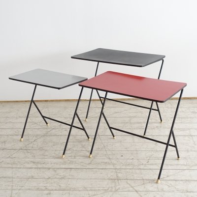 Pilastro nesting tables, the Netherlands 1960s