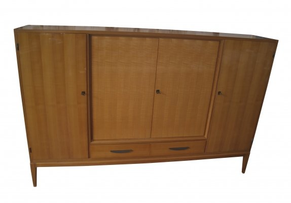 Highboard in Cherrywood, 1950s