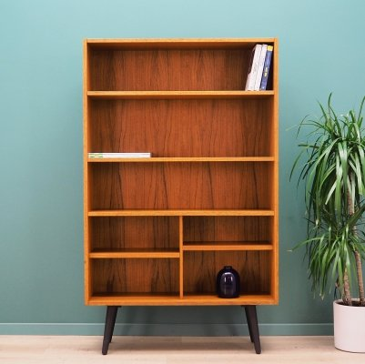 Danish design bookcase in teak, 1960s