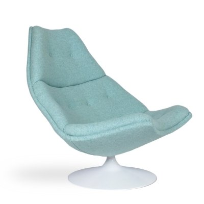 Swivel armchair F590 by Geoffrey Harcourt for Artifort, 1970s