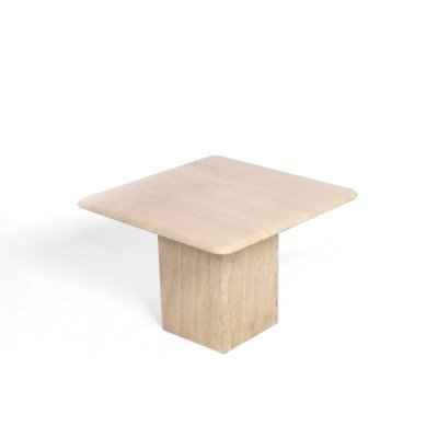 Travertine coffee table or side table
