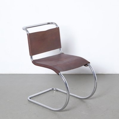 Rare early MR10 Cantilever Chair by Ludwig Mies van der Rohe for Thonet, 1930s