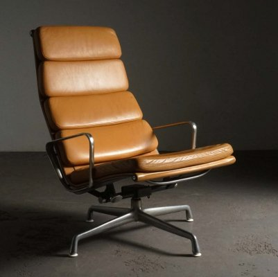 EA222 lounge chair by Charles & Ray Eames for Herman Miller, 1990s