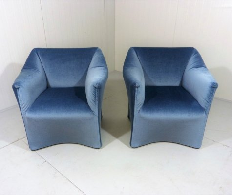 Mario Bellini 'Grande Tentazione' easy chairs for Cassina, 1970's