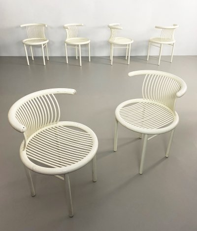 Set of 6 Bentwood Chairs by Helmut Lübke, Germany c.1960