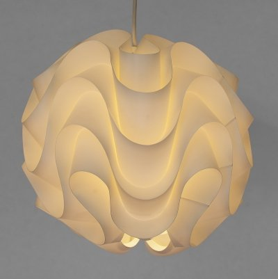Pendant light P172 by Poul Christiansen for Le Klint, Denmark 1970s