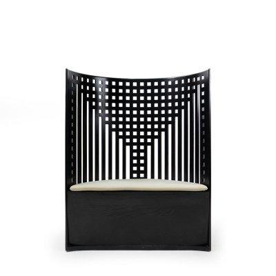 Willow Chair by Charles R. Mackintosh for Cassina, 1980s