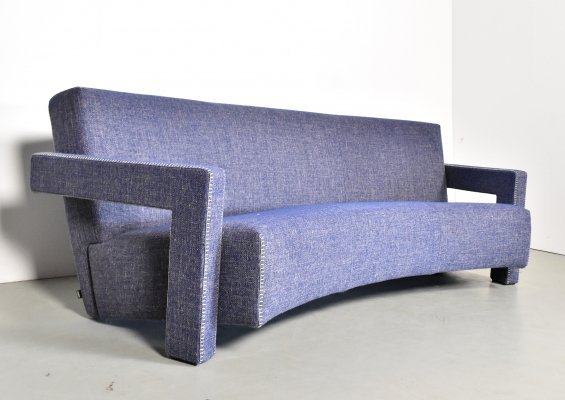Gerrit Rietveld 637 Utrecht sofa for Cassina, 1990s