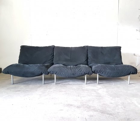 Set of 3 Calin chairs by Pascal Mourgue for Ligne Roset, France 1980s