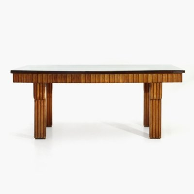 Table with briar top, 1940s