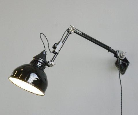 Wall Mounted Task Lamp by Rademacher, Circa 1920s