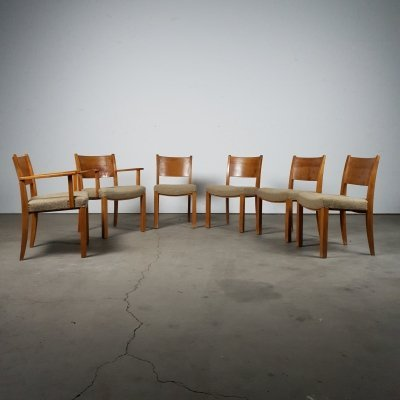 Rare set of 1930s Rationalist chairs