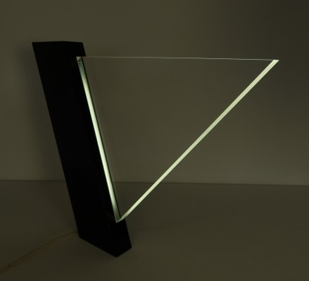 Lucite table lamp by Peter Schreuder Goedheijt for Indoor, 1970s