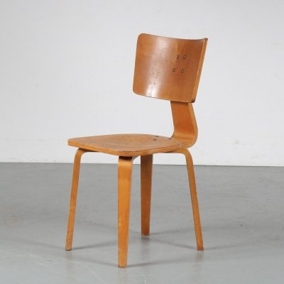 1950s Dining chair by Cor Alons for C. den Boer Gouda, Netherlands