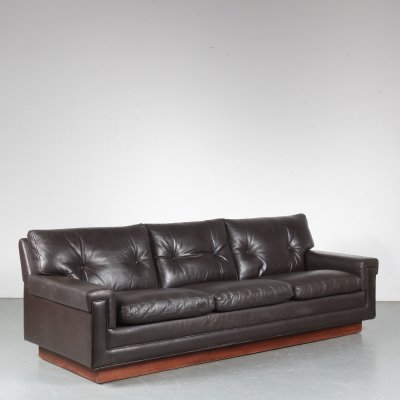 1960s Leather sofa by Bovenkamp from the Netherlands