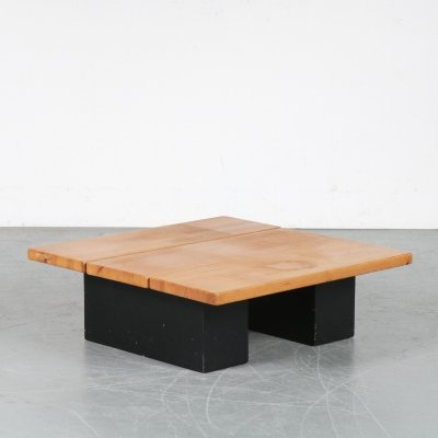 'Pirkka' Coffee Table by Ilmari Tapiovaara for Laukaan Puu, Finland 1950
