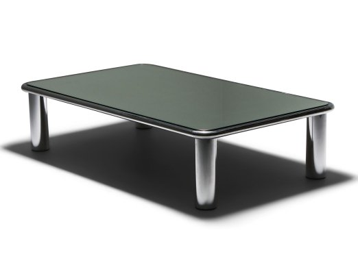 Sesann Mirrored Coffee Table by Gianfranco Frattini for Cassina, 1960's