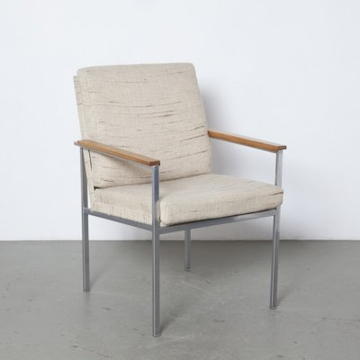 Gispen Nr 1266 arm chair by Coen de Vries