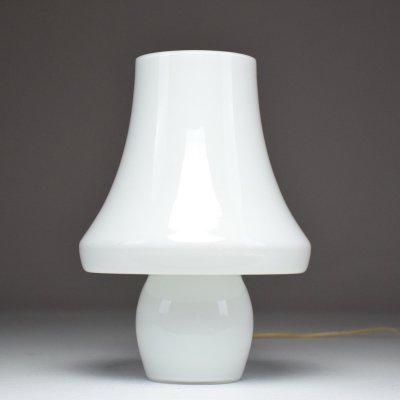 Italian Midcentury Murano Glass Table Lamp by Carlo Nason