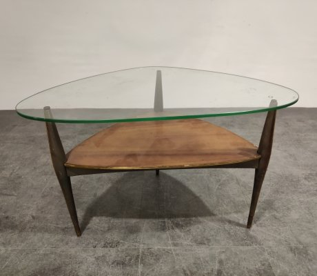 Coffee table by Alfred Hendrickx, 1950s