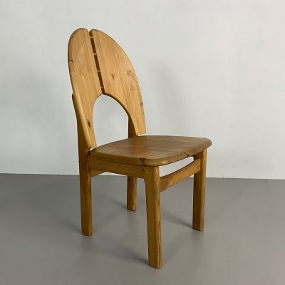 Vintage Pine Side Chair, Germany c.1980