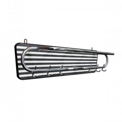 Bauhaus coat rack in chrome, 1930s