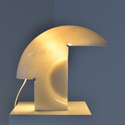 Early edition 'Biagio' table lamp by Tobia Scarpa for Flos, Italy 1968