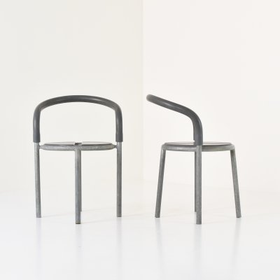 Set of two Pelikan chairs by Niels Gammelgaard for Fritz Hansen, Denmark 1995