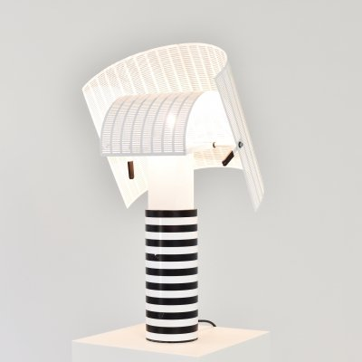 Early 'Shogun' table lamp by Mario Botta for Artemide, Italy 1970's