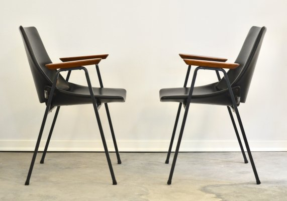 Pair of Lupina lounge chairs by Niko Kralj for Stol Kamnik