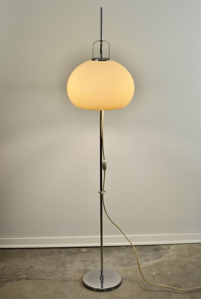 Lucerna Floor Lamp by Harvey Guzzini, 1970s
