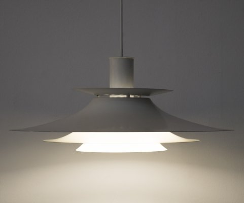 Danish hanging lamp by Form Light, 1980s