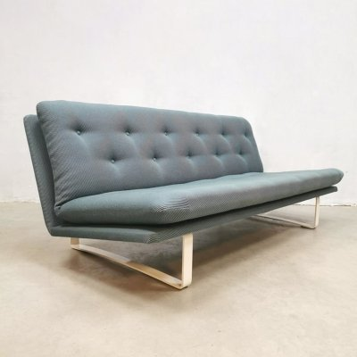 Midcentury Dutch design sofa by Kho Liang Ie for Artifort