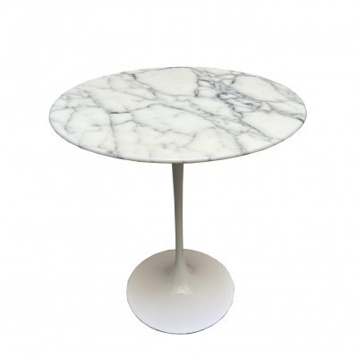 1960s Tulip Side Table by Eero Saarinen for Knoll