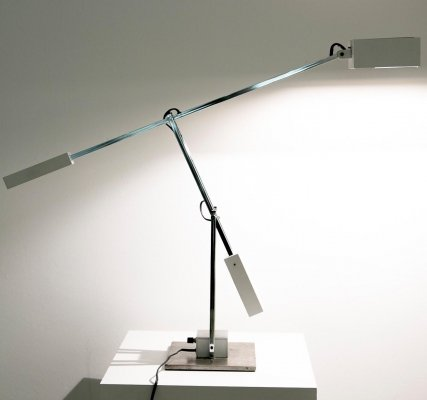 Mid-century high end Robert Sonneman articulated table lamp, 1970's