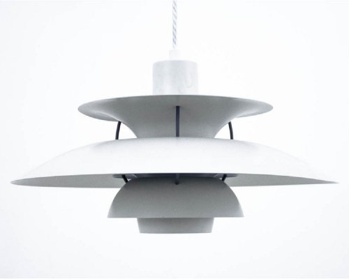 PH5 lamp by Poul Henningsen for Louis Poulsen, 1980s