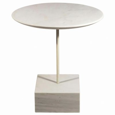 1990's Ettore Sottsass 'Primavera' Marble Side Table