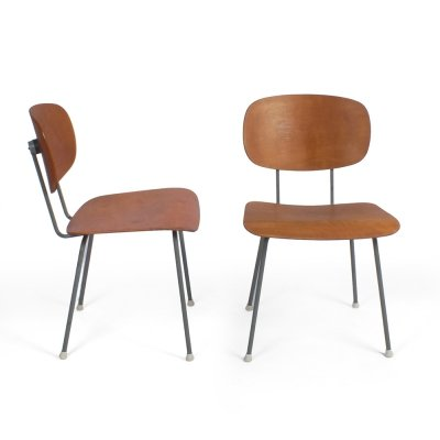 2 x Model 116 dining chair by Wim Rietveld for Gispen, 1950s